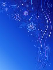 Blue Christmas Design