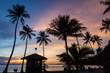 Leinwanddruck Bild - Sunrise at Angthong Island