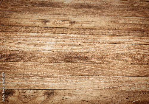 Foto op Aluminium Hout Perspective table top,wood texture