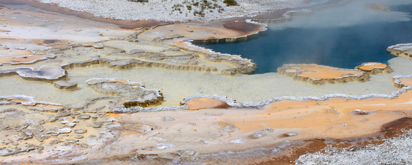 Yellostone National Park - Hot spring