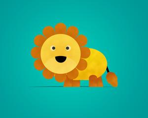 Lion Paper Clipart