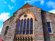 canvas print picture - Small church in Cornwall