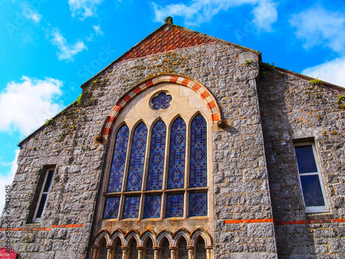 canvas print picture Small church in Cornwall
