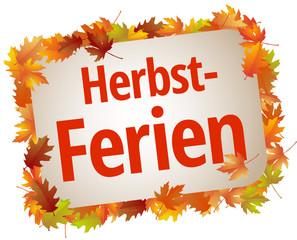 Herbst-Ferien
