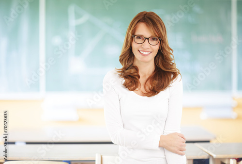 Teacher portrait - 70423635