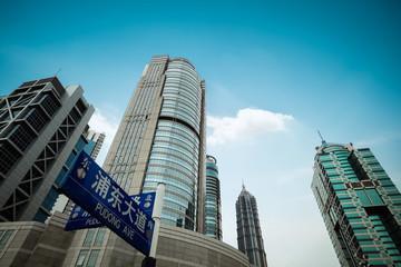 modern financial buildings
