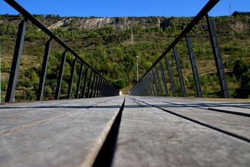 Puente en Ansoain, Navarra