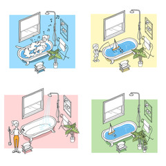 Handwriting-like systems based illustrations02