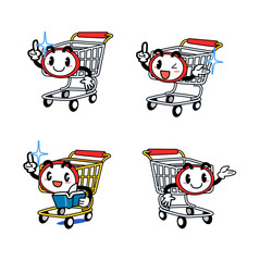 Anthropomorphic cart