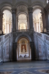 Caserta Royal Palace, honour Grand Staircase