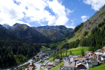 Samnaun - Alpen - Schweiz
