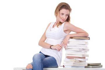 youn female student portrait
