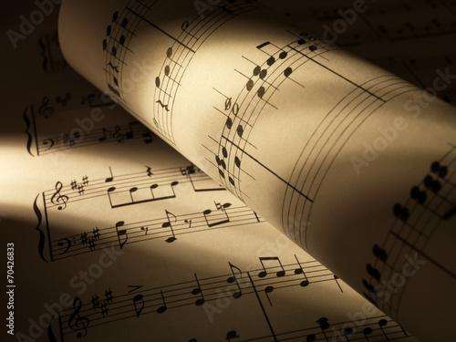 Papiers peints Magasin de musique Music sheets