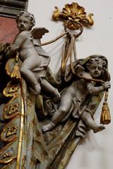 cherub baroque valances 2