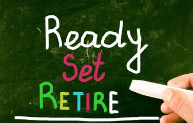 ready set retire concept