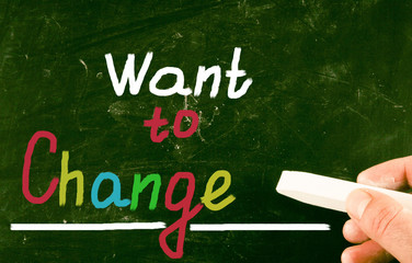 want to change concept