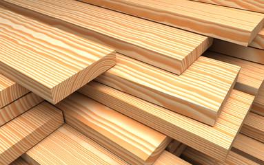 Closeup wooden boards. construction materials