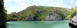 Leinwanddruck Bild - Laguna in Ang Thong National Marine Park, Thailand
