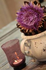 romantischer Herbstzauber bei Kerzenschein