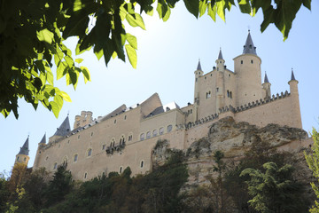 The Alcazar of Segovia in Spain
