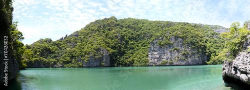 Leinwanddruck Bild Laguna in Ang Thong National Marine Park, Thailand