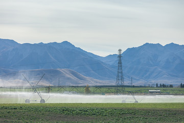 Long irrigation system pipe