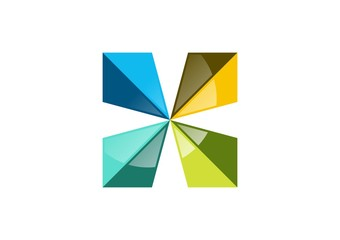 square,logo,arrows,geometry,elements,real estate,company