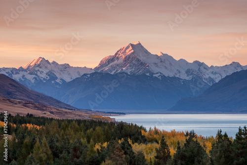 Keuken foto achterwand Nieuw Zeeland Mt. Cook