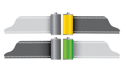 Camera film rolls