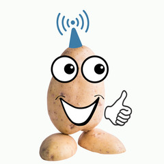 little potato man wifi access point