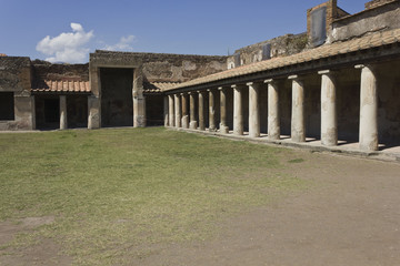 Stabian Thermal baths complex, Pompei
