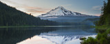 Volcano mountain Mt. Hood, in Oregon, USA. - Fine Art prints
