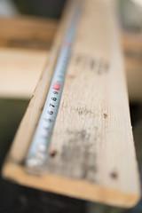 材木を測るメジャー
