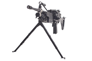 machine gun m249