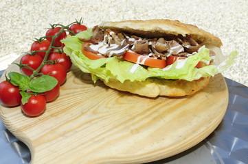 Panino kebab