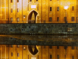 Riverbank reflection