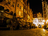 Mariacka street in Gdansk by night - 70433494