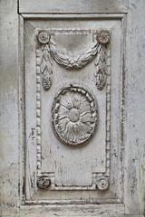 Antike Holztür Detail