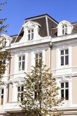 Barock Fassade eins Hauses
