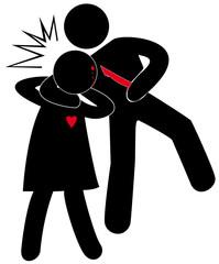 violences conjugales, blessures avec arme blanche