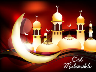 vector eid mubarakh background
