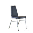 Chair isolated on white with clipping path.
