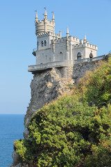 Swallow's Nest, Crimea, Yalta