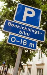 Parkering för diplomater