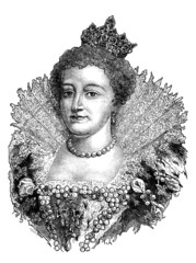 French Queen - 17th century