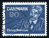 Georg Brandes writer and literary critic poster