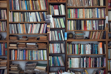 Old book case