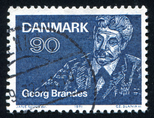 Georg Brandes writer and literary critic