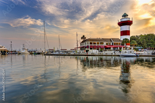 Lighthouse on Hilton Head Island