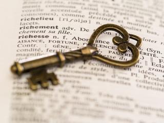 clé pour la richesse